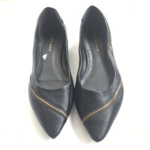 Women's Black BCBG FLATS 9.5
